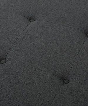 Christopher Knight Home Luise Fabric Ottoman Dark Grey 0 2 300x360