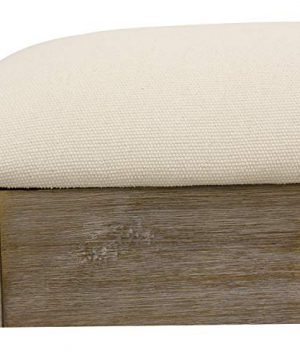 Decor Therapy Waverly Wood Bench With Coat Rack Set Measures 42x118x1775 Winter White 0 1 300x360