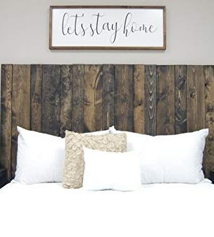 Ebony Headboard King Size Stain Leaner Style Handcrafted Leans On Wall Easy Installation 0 0 300x332