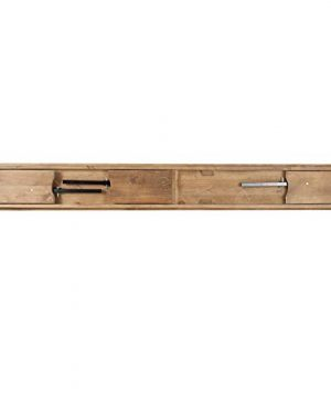 Flash Furniture HERCULES Series 8 X 12 Antique Rustic Solid Pine Folding Farm Bench With 3 Legs 0 3 300x360