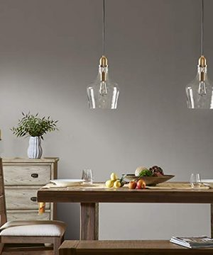 Hampton Hill Auburn Gold Modern Chandeliers Pendant Hanging Lamp Ceiling Dining Room Lighting Fixtures 8x8 0 2 300x360