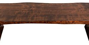 Live Edge Wooden Bench Solid Wood Dining Bench Rustic Home Decor Furniture Natural Edge Wooden Slab Bench 4 Long Rustic Cherry Wood With Asbury Stain 0 300x151