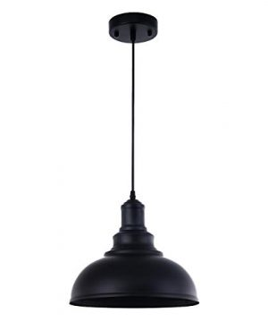 Pendant Lighting Metal Industrial Vintage Hanging Ceiling Black For Kitchen Home Lighting 0 300x360