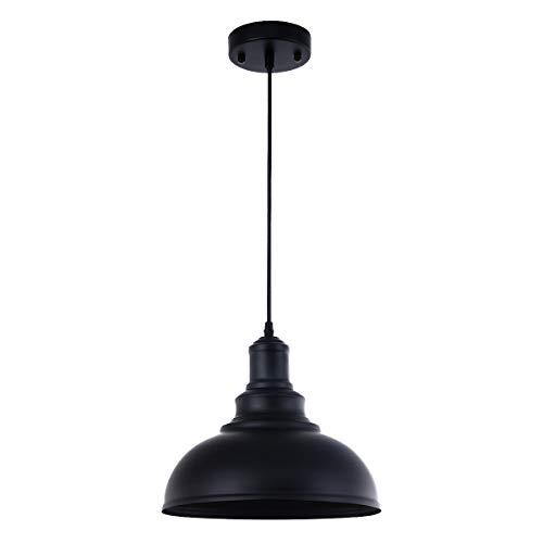 Pendant Lighting Metal Industrial Vintage Hanging Ceiling Black For Kitchen Home Lighting 0