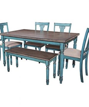 Powell Furniture Willow Dining Bench Multicolor 0 0 300x360