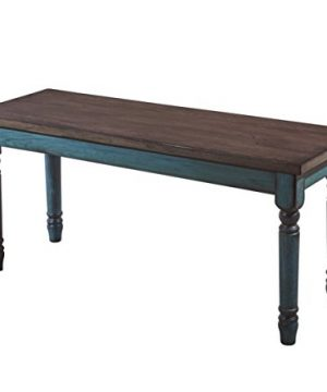 Powell Furniture Willow Dining Bench Multicolor 0 300x360