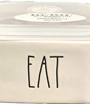 Rae Dunn 525 Square Bowl WLid 525 Eat 0 300x346