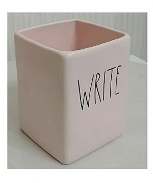 Rae Dunn Artisan Collection By Magenta Write Solid Pink Pen Desk Office Holder Organizer 0 0 300x360