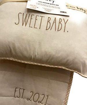 Rae Dunn Baby 100 Cotton Quilt Set 0 1 300x360