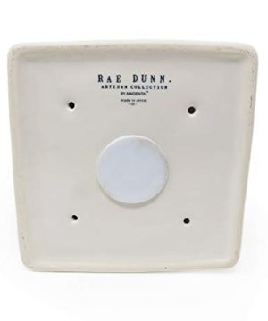 Rae Dunn By Magenta BABY BIRD Ceramic LL Decorative Birdhouse With Pink White Check Ribbon 2020 Limited Edition 0 1 300x360