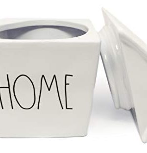 Rae Dunn By Magenta HOME Ceramic LL Birdhouse Shaped Canister Cookie Jar 2020 Limited Edition 0 0 300x312