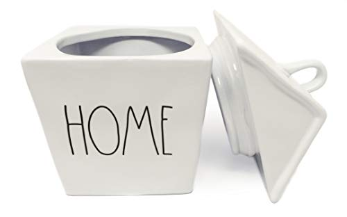 Rae Dunn By Magenta HOME Ceramic LL Birdhouse Shaped Canister Cookie Jar 2020 Limited Edition 0 0