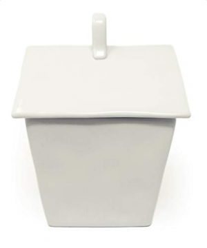 Rae Dunn By Magenta HOME Ceramic LL Birdhouse Shaped Canister Cookie Jar 2020 Limited Edition 0 1 300x360