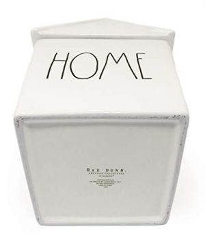 Rae Dunn By Magenta HOME Ceramic LL Birdhouse Shaped Canister Cookie Jar 2020 Limited Edition 0 2 300x360