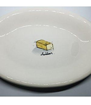 Rae Dunn Cheese Plate 8W X 575L Serving Dish Tray Kitchen Home Decor Cheddar 0 300x344