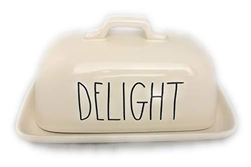 Rae Dunn Delight Butter Dish 0
