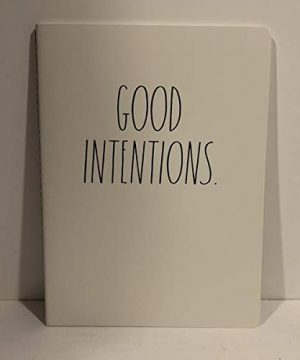 Rae Dunn GOOD INTENTIONS Notebook 80 Pages 10 X 7 0 300x360