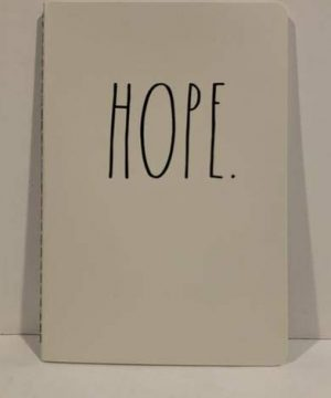 Rae Dunn HOPE Notebook 8 14 X 5 34 80 Pages Diary Journal Memo Notepad Notes Organize Lists Office Lover Darling School Work Home Friend Boy Father Mother Co Worker Gift 0 300x360