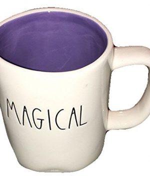 Rae Dunn Large Letter Halloween Magical Coffee Cup Mug Artisan Collection 0 300x360
