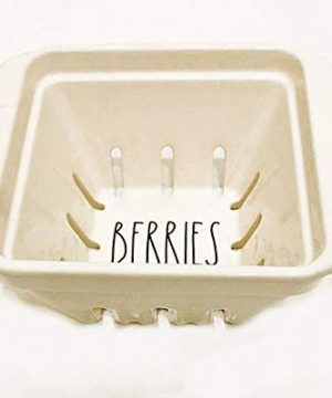 Rae Dunn Magenta Ceramic Berry Bowl For Storage And Serving Inscribed BERRIES 0 300x360