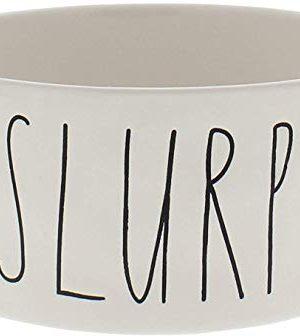 Rae Dunn Magenta Ceramic Dog Slurp Bowl 8 Extra Large 0 300x336