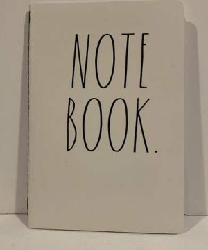 Rae Dunn NOTE BOOK Notebook 8 14 X 5 34 80 Pages Diary Journal Memo Notepad Notes Organize Lists Office Lover Darling School Work Home Friend Boy Father Mother Co Worker Gift 0 300x360