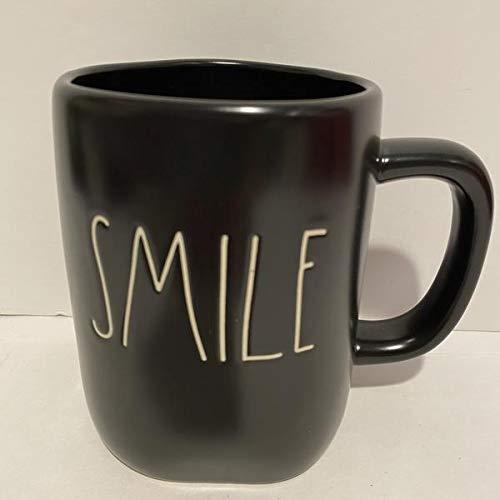 Rae Dunn SMILE Mug Ceramic Black 0