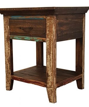 Rustics For Less Nightstand Multicolor 0 300x360