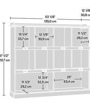 Sauder Barrister Lane Bookcase L 5315 X W 1213 X H 4752 White Plank Finish 0 1 300x360