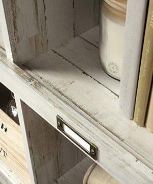 Sauder Barrister Lane Bookcase L 5315 X W 1213 X H 4752 White Plank Finish 0 3 300x360