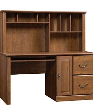 Sauder Orchard Hills Computer Desk With Hutch Milled Cherry Finish 0 300x360