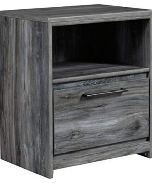 Signature Design By Ashley Baystorm Nightstand Gray 0 300x360