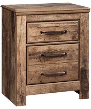 Signature Design By Ashley Blaneville Nightstand 1591 D X 2421 W X 2923 H Brown 0 300x360