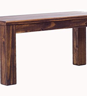 TableChamp Bench Solid Pine 378 Inch Oak Antique Wood Oiled 0 300x333