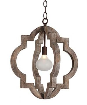 Vintage Wooden Chandelier 10360 1 Light Rustic Metal And Wood Orb Farmhouse Chandeliers Hanging Ceiling Mount Pendant Light Home Decor For Bedrooms Kitchen Island Living Room Foyer Lighting 0 300x360