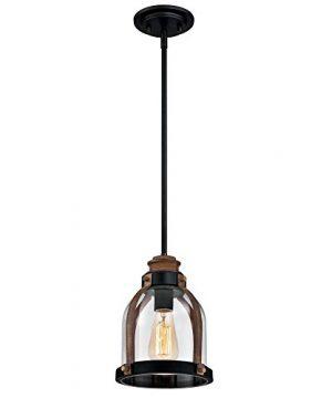 Westinghouse Lighting 6356300 One Light Indoor Mini Pendant OrbBarnwood 0 300x360