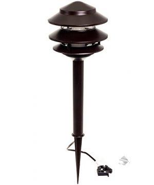4 Pack Westinghouse 24W Low Voltage LED Landscape Pathlight Remington Bronze 0 0 300x360