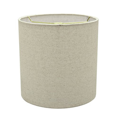 Aspen Creative 31226 Light Grey 8 Wide 8 X 8 X 8 Transitional Drum Cylinder Shaped Spider Construction Lamp Shade 0 0