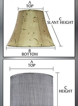 Aspen Creative 31226 Light Grey 8 Wide 8 X 8 X 8 Transitional Drum Cylinder Shaped Spider Construction Lamp Shade 0 3 266x360