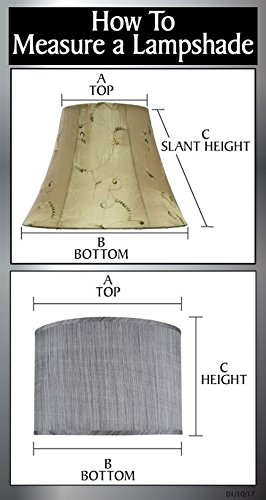 Aspen Creative 31226 Light Grey 8 Wide 8 X 8 X 8 Transitional Drum Cylinder Shaped Spider Construction Lamp Shade 0 3