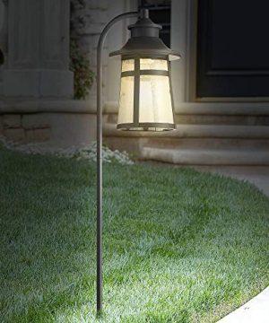 Clement 26 12 High Black LED Landscape Path Light John Timberland 0 3 300x360