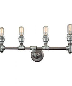 Elk Lighting 106854 Vanity Lighting Fixtures 10 X 28 X 6 Gray 0 300x360