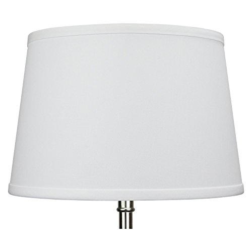 FenchelShadescom Set Of 2 Lampshades 10 Top Diameter X 12 Bottom Diameter X 8 Slant Height With Washer Spider Attachment For Lamps With A Harp 0 0