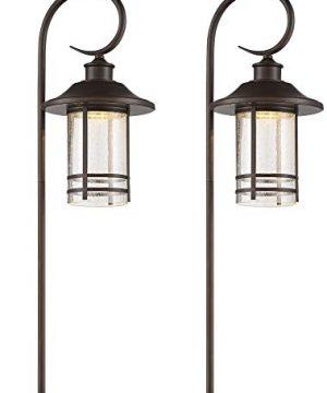 Galt 28 High Oil Rubbed Bronze LED Path Lights Set Of 2 John Timberland 0 300x360