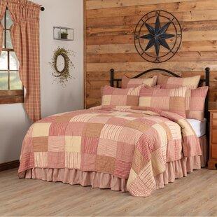 Gofried+Standard+Cotton+136+TC+Reversible+Farmhouse+_+Country+Quilt