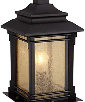 Hickory Point Asian Outdoor Light Fixture Bronze 165 Textured Glass For Exterior House Porch Patio Franklin Iron Works 0 0 300x360
