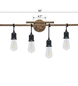 Homenovo Lighting 6 Light Farmhouse Bathroom Vanity Light Fixture 0 0 300x334