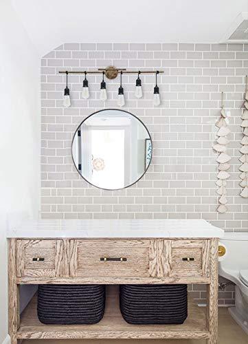 Homenovo Lighting 6 Light Farmhouse Bathroom Vanity Light Fixture 0 1