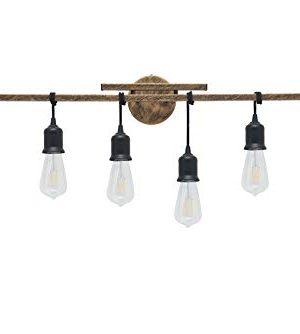 Homenovo Lighting 6 Light Farmhouse Bathroom Vanity Light Fixture 0 300x334