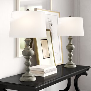 Johnny+30.25_+Gray_Beige_Green+Table+Lamp+Set+(Set+of+2)